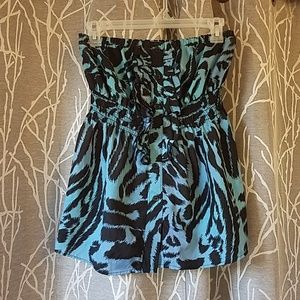 Charlotte Russe Strapless Top sz Small